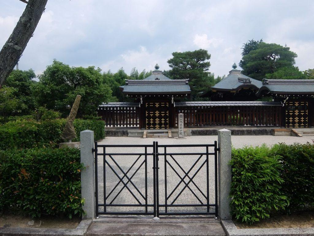 亀山天皇・亀山陵