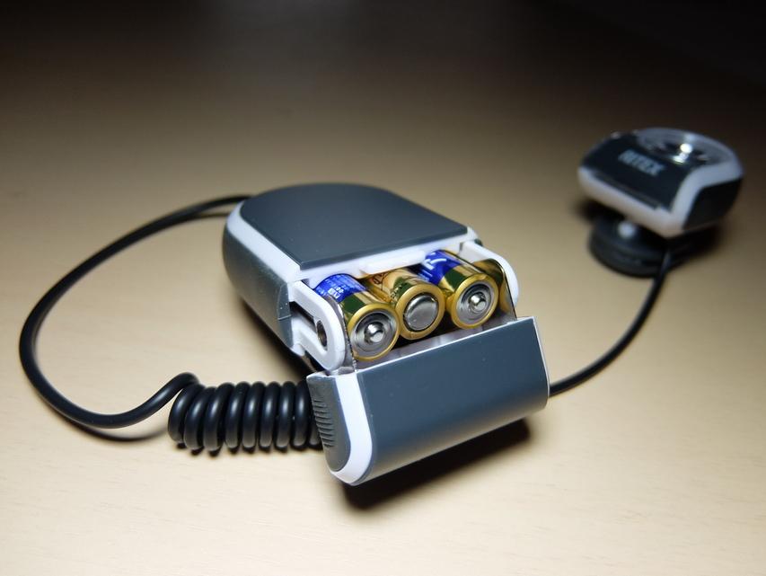 クリップライト電池