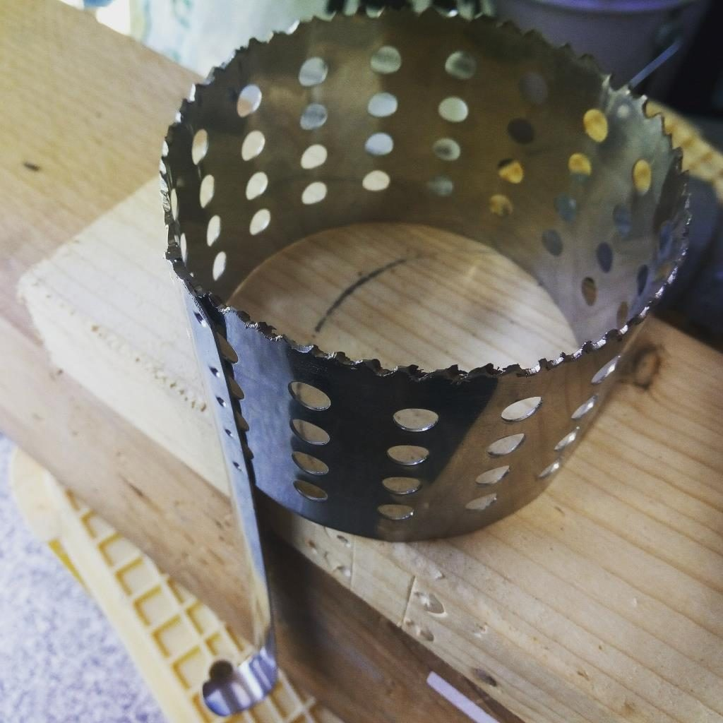 手作りステンレスホールカッター