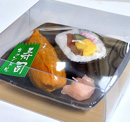 助六寿司キャンドル ガリ付