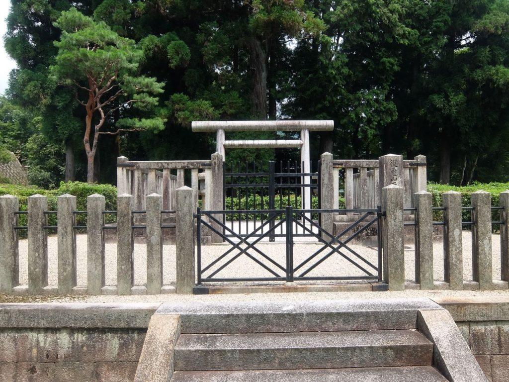 後龜山天皇・嵯峨小倉陵