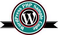 wordpress sample code